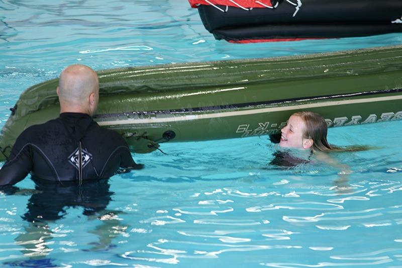 Survival zwemmen voor de kinderen 7-12 jaar